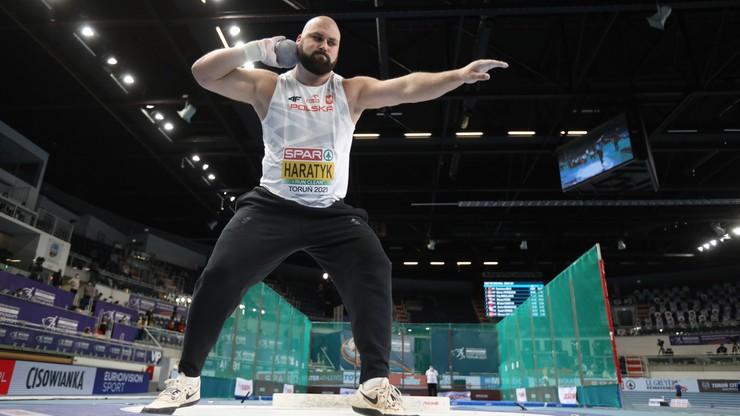 HME Toruń 2021: Michał Haratyk ze srebrnym medalem