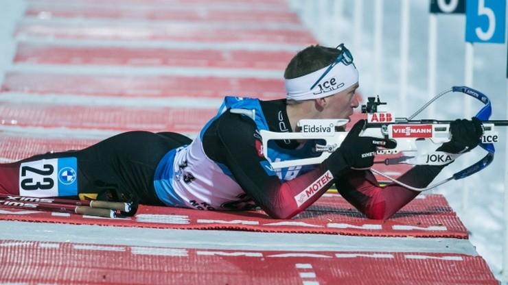 PŚ w biathlonie: Tarjei Boe najlepszy w Kontiolahti. 50. lokata Grzegorza Guzika