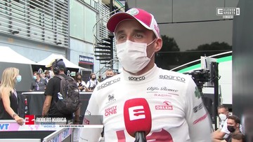 Robert Kubica po kwalifikacjach do sprintu [ELEVEN SPORTS]