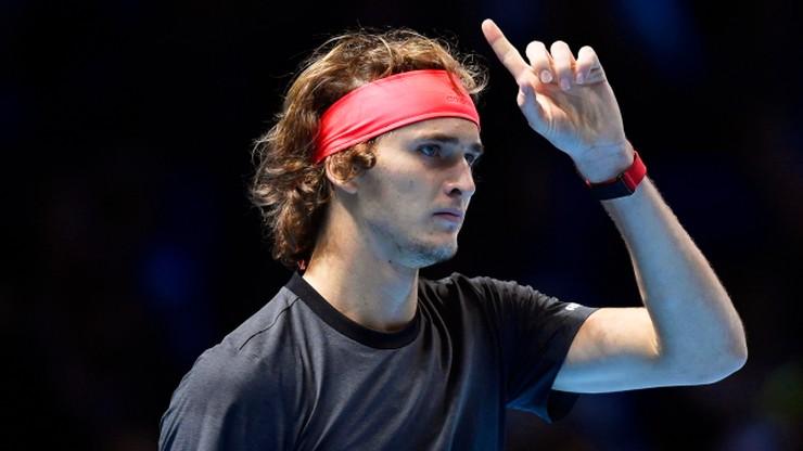ATP Finals: Zverev wybuczany przez publiczność za przerwanie wymiany