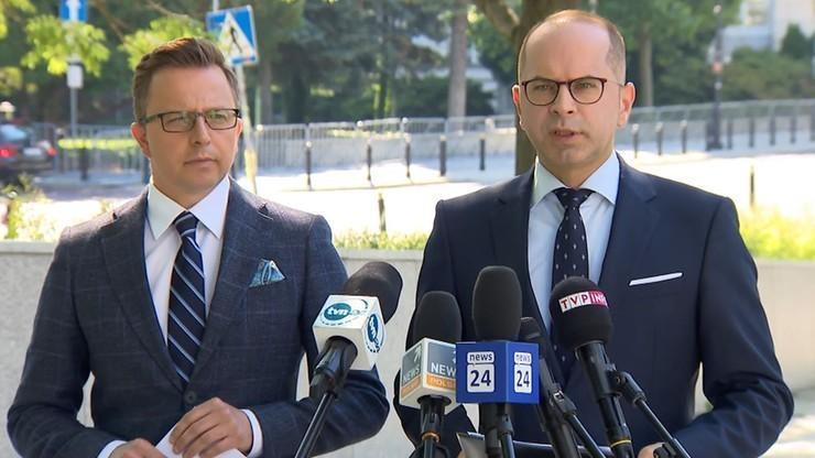 """Posłowie KO komentują reasumpcję głosowania. """"Marszałek Sejmu wprowadza w błąd opinię publiczną"""""""