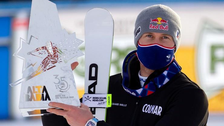 Alpejski PŚ: Alexis Pinturault triumfował w slalomie gigancie w Alta Badia
