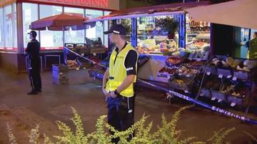 Rzucił się z nożem na kobietę sprzedającą warzywa. Obława we Wrocławiu