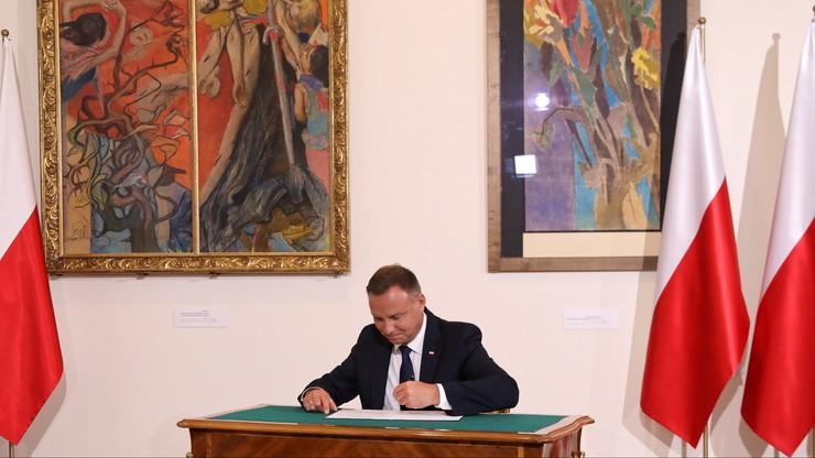 Prezydent podpisał ustawę ustanawiającą Medal Stulecia Odzyskanej Niepodległości