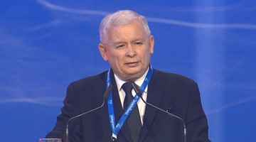 """Kaczyński: """"Andrzej Duda, to był celny cios"""". Kongres PiS w Warszawie"""