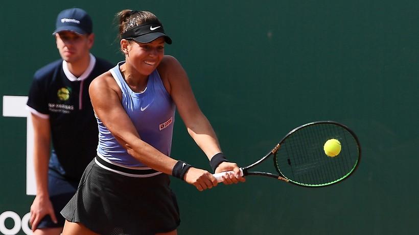 WTA w Gdyni: Weronika Falkowska nie awansowała do ćwierćfinału