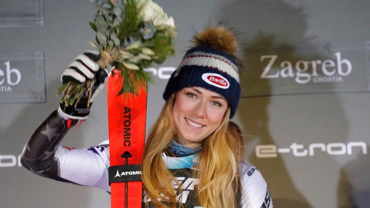 Alpejski PŚ: Pewne zwycięstwo Shiffrin w slalomie w Zagrzebiu