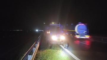 Pijany traktorzysta jechał obwodnicą pod prąd