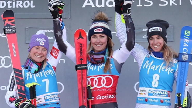 Alpejski PŚ: Shiffrin wygrała supergigant, Vonn nie ukończyła