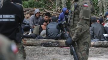 Ile osób zostało w pobliżu granicy? Sprzeczne doniesienia