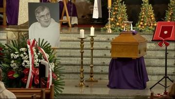 Pogrzeb o. Macieja Zięby. Pośmiertnie otrzymał odznaczenie