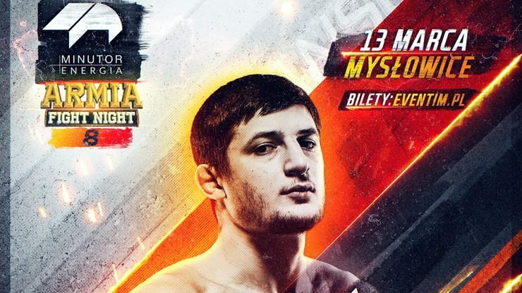 MINUTOR Energia Armia Fight Night 8: Mansur Azhiev znowu w klatce!