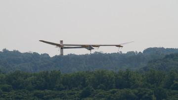 Solarny samolot wylądował w Oklahomie. Przed nim podróż dookoła świata
