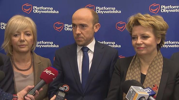 Łódzka Platforma poparła Borysa Budkę w wyborach na szefa partii