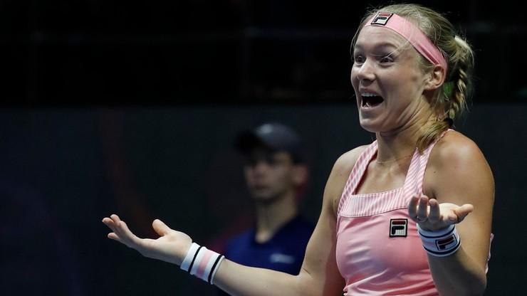WTA w Sankt Petersburgu: Ósmy tytuł Bertens