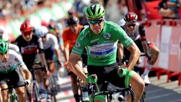 Vuelta a Espana: Jakobsen wygrał 16. etap, liderem nadal Eiking