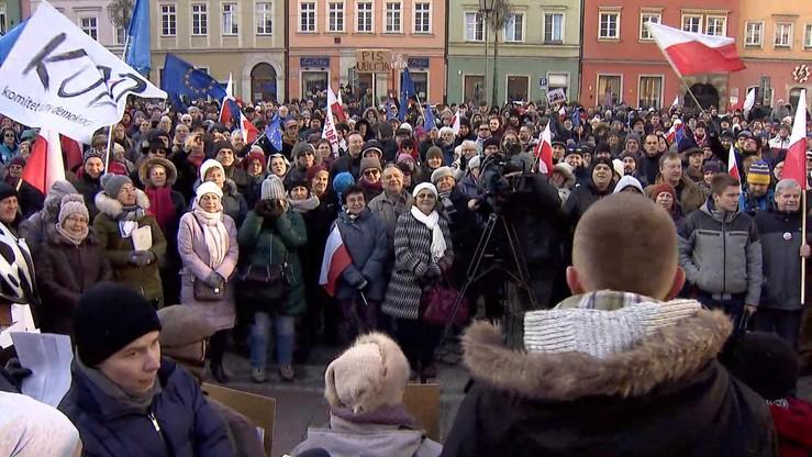 Poznań, Wrocław, Gdańsk, Łódź… Protesty w całym kraju