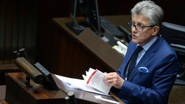 Piotrowicz: sędziowie decydują, kto będzie sędzią i kto wybierze Krajową Radę Sądownictwa - debata o KRS