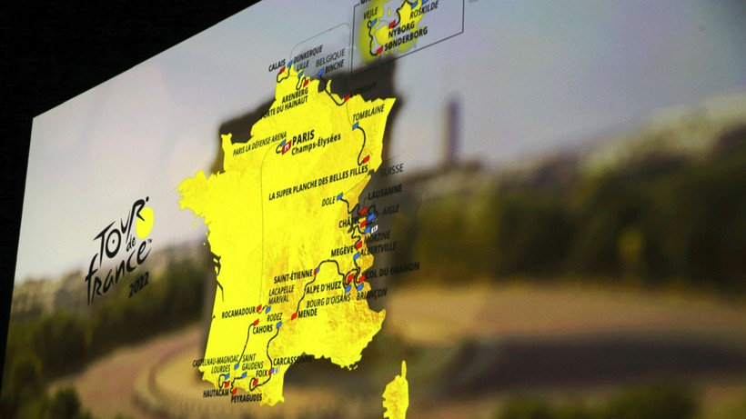 Zaprezentowano trasę Tour de France w 2022 roku. Początek w Danii