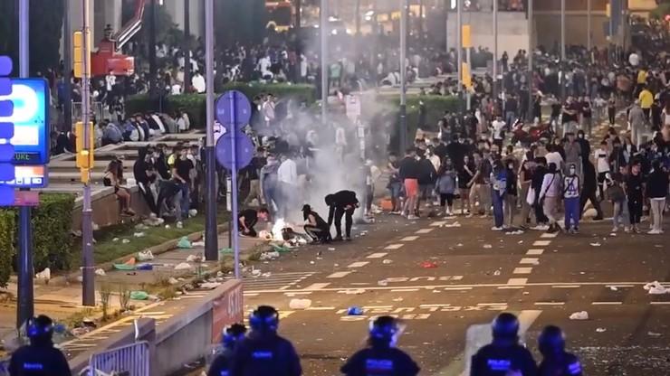 Hiszpania. Zamieszki w Barcelonie podczas festiwalu La Merce