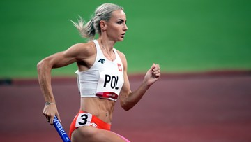 Tokio 2020: Polki bezkonkurencyjne! Polska sztafeta 4x400 m w finale