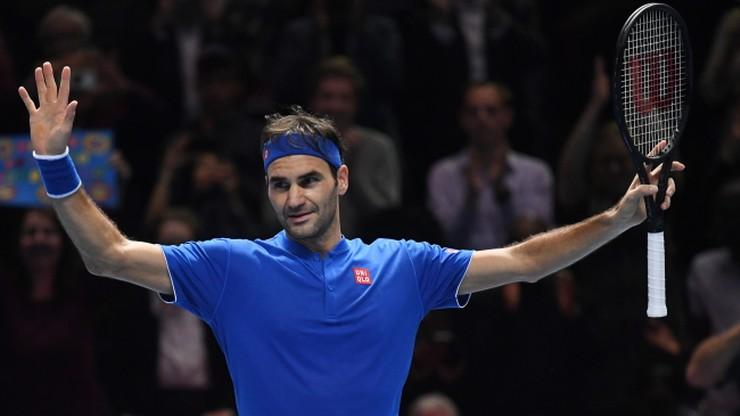 ATP Finals: Federer w półfinale