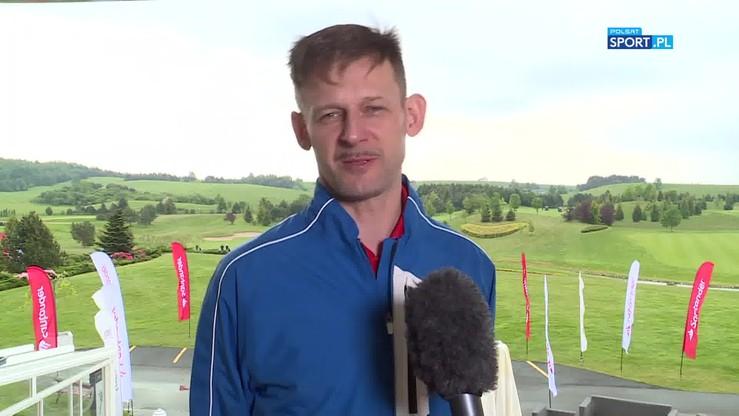 Wójcik: W golfie rywalizuje się ze sobą, a nie rywalem