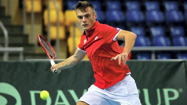 ATP Challenger Tour w Splicie: Kacper Żuk awansował do finału!