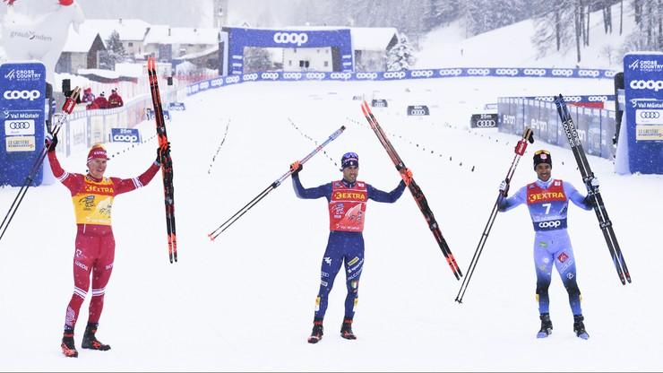 Tour de Ski: Pellegrino i Svahn wygrali sprint w Val Muestair