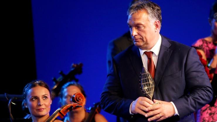 Orban uhonorowany nagrodą Człowieka Roku