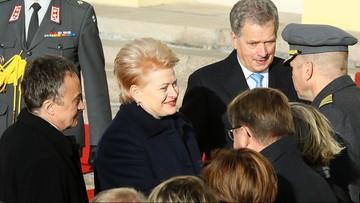 Prezydent Litwy: Iskandery w obwodzie kaliningradzkim to demonstracja siły