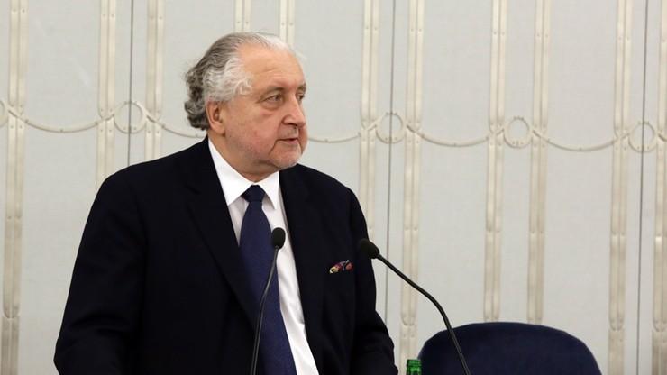 Rzepliński apeluje do prezydenta o zaskarżenie do TK nowej ustawy o Trybunale