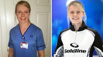 """""""Istnieją ważniejsze sprawy niż sport"""". Reprezentantka Szkocji wróciła do pracy w szpitalu"""