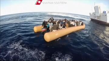 Włochy: ponad 1200 migrantów z Afryki uratowano na Morzu Śródziemnym