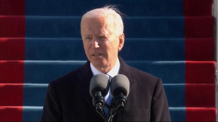 """""""Razem napiszemy amerykańską historię nadziei, a nie strachu"""". Przemówienie inauguracyjne Joe Bidena"""