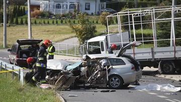 Tragiczny wypadek w Małopolsce. Nie żyje dwóch 18-latków