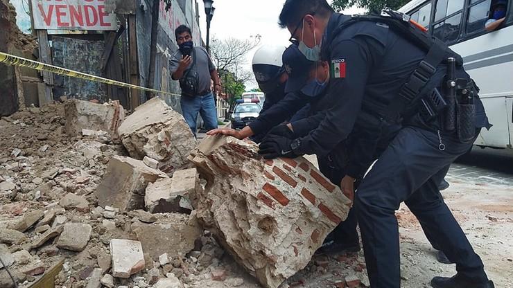 Trzęsienie ziemi o magnitudzie 7,4. Potwierdzono ofiarę śmiertelną