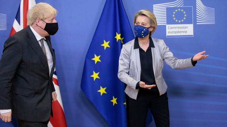 Spotkanie ostatniej szansy von der Leyen i Johnsona. Chodzi o umowę handlową po brexicie