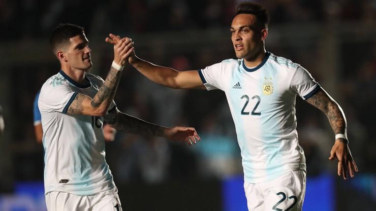 Argentyna rozbiła Meksyk w pierwszej połowie. Hat-trick Martineza