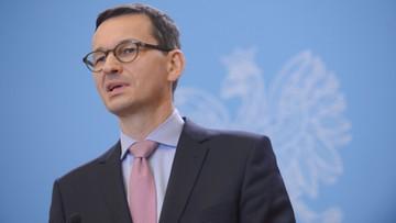 """""""Szanuję niezależność sądów"""". Morawiecki o uchyleniu umorzenia śledztwa ws. obrad Sejmu"""