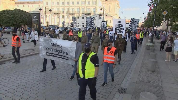 """Marsz Zwycięstwa w Warszawie. """"Nie dostaliśmy zakazu na wszystkie zgromadzenia"""""""
