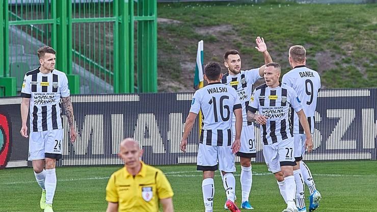 Fortuna 1 Liga: GKS 1962 Jastrzębie - Sandecja Nowy Sącz. Transmisja w Polsacie Sport