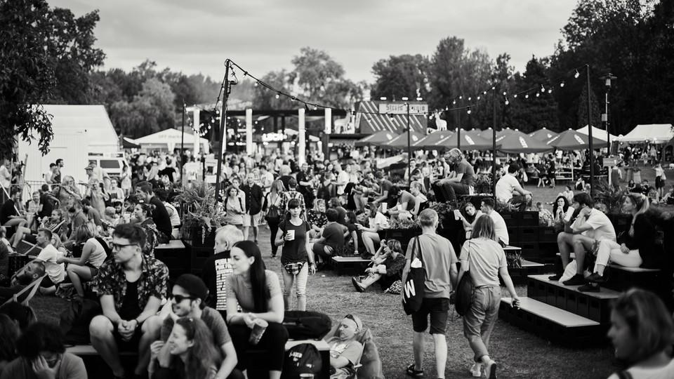 Tłumy na Off Festival