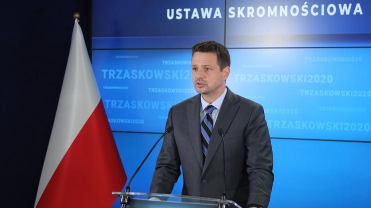 """PiS wzywa Trzaskowskiego do ujawnienia nagród. """"Warszawa nie jest symbolem skromności"""""""