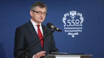 Kuchciński: Rzeczpospolita nigdy nie uznała władzy absolutnej; stanowimy sami o sobie
