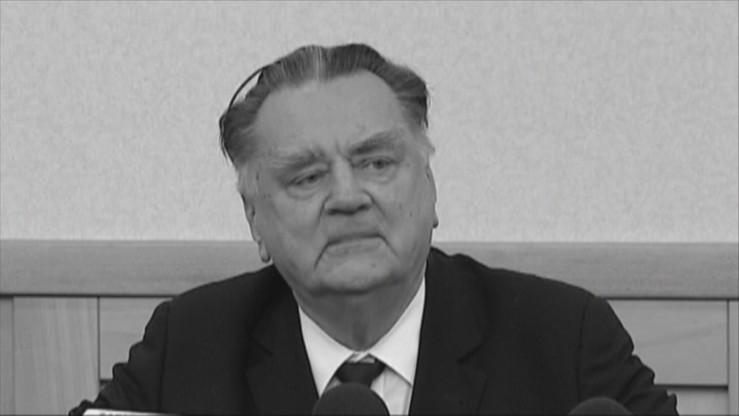 """Projekt uchwały upamiętniającej b. premiera Olszewskiego. PO: """"Był też doradcą Wałęsy"""""""