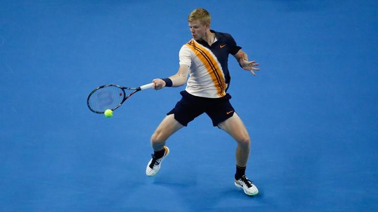 ATP w Antwerpii: Pierwszy triumf Edmunda w karierze