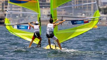 Tokio 2020: Piotr Myszka awansował na czwarte miejsce w żeglarskiej klasie RS:X