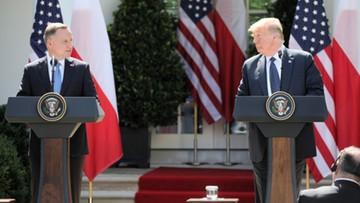 """""""Duda uzyskał to, czego tak pragnął"""". Media o wizycie polskiego prezydenta w USA"""
