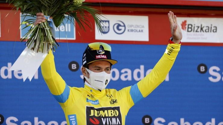 Primoz Roglic zwycięzcą wyścigu Dookola Kraju Basków
